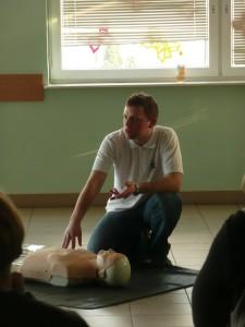 Kurs z pierwszej pomocy w szkole w Radomiu